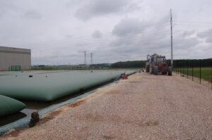 Stockage effluents