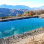Bassin d'irrigation