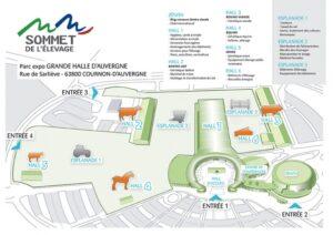 sommet élevage 2016 plan 3d