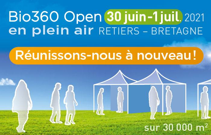 Salon BIO360 (35 Retiers) les 30 Juin et 1er Juillet 2021